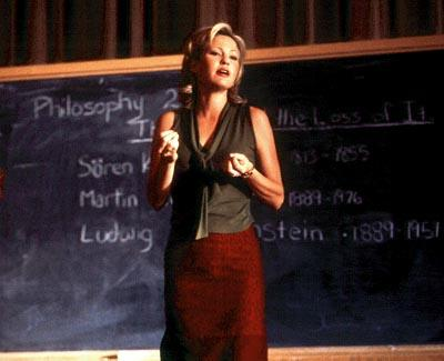 Joey Lauren Adams as Chesney in Cowboy's Harvard Man