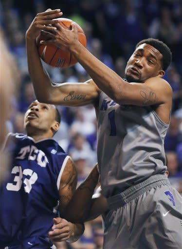 No. 9 Kansas State beats TCU 79-68