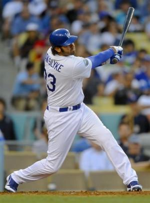 Van Slyke's 3-run pinch HR helps Dodgers top Cards