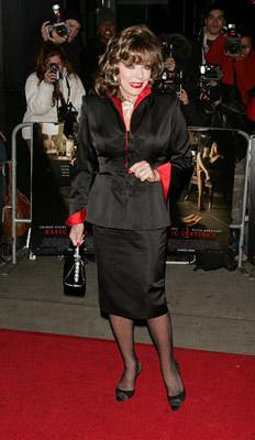 Joan Collins at the NY premiere of Columbia/MGM's Basic Instinct 2
