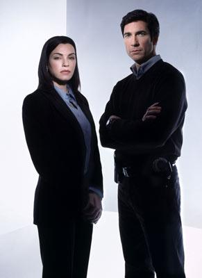 "Julianna Margulies and Dylan McDermott TNT's ""The Grid"""