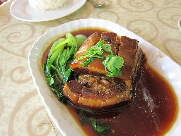 Did you know that one braised egg contains more than twice the cholesterol of roast pork belly?