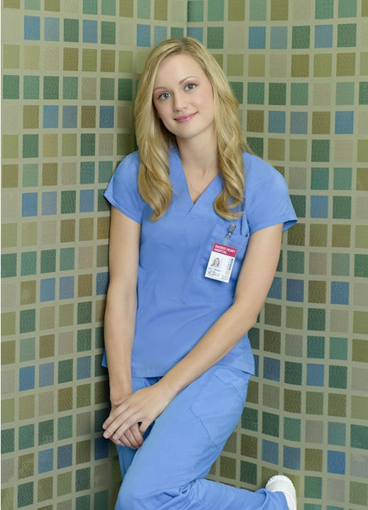 "Kerry Bishe stars as Lucy in ""Scrubs."""