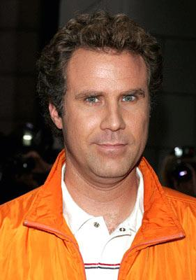 Will Ferrell at the New York premiere of Dreamworks' Anchorman