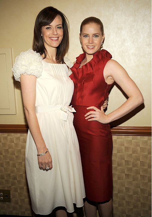 68th Annual Motion Picture Club's Awards Luncheon Rosemarie DeWitt Amy Adams 2008