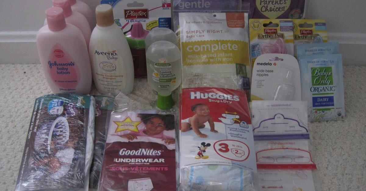 5 Free Baby Sample Offers Available: View Yours