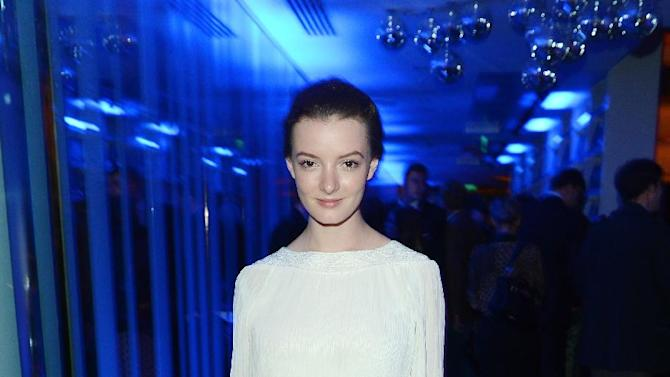 Actress Dakota Blue Richards seen at The Premiere of Intel & W Hotels' Four Stories on Tuesday, Nov. 27, 2012, W Hotel, London. (Photo by Jon Furniss/Invision for Intel/AP Images)