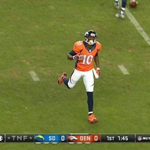 Week 8: Denver Broncos wide receiver Emmanuel Sanders highlights