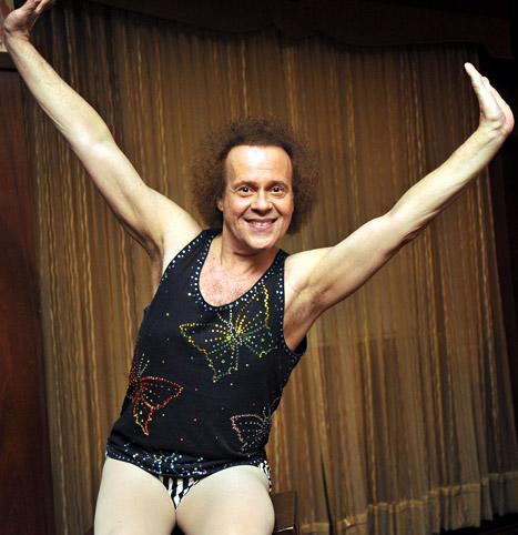 "Richard Simmons: David Letterman is ""Very Standoffish"""