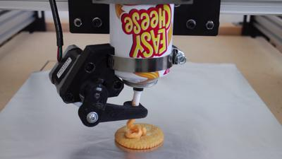 This Easy Cheese 3D Printer Has So Much Potential