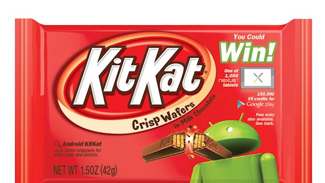Gimme a break: New Android system named 'KitKat'