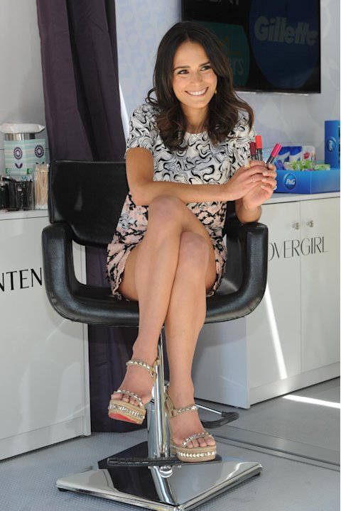 IMAGE DISTRIBUTED FOR P&G - Actress Jordana Brewster joins Procter and Gamble in New York, Wednesday, June 19, 2013, to celebrate The #EverydayEffect campaign, which aims to show consumers how P&G bra