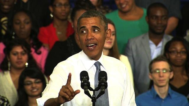 "Obama ridicules ""desperate"" GOP arguments against Obamacare"