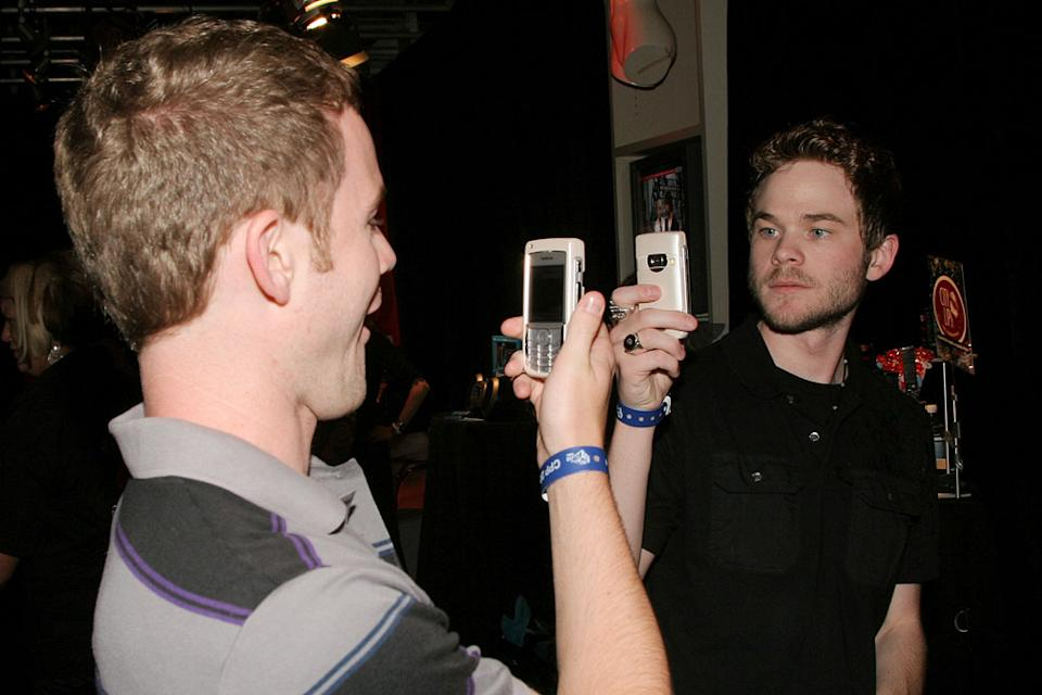 Aaron Ashmore and Shawn Ashmore at the 17th Annual MuchMusic Video Awards - On 3 Gift Lounge.