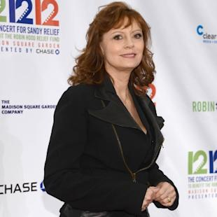 Susan Sarandon attends '12-12-12' a concert benefiting The Robin Hood Relief Fund to aid the victims of Hurricane Sandy presented by Clear Channel Media & Entertainment, The Madison Square Garden Company and The Weinstein Company at Madison Square Garden on December 12, 2012 -- Getty Images