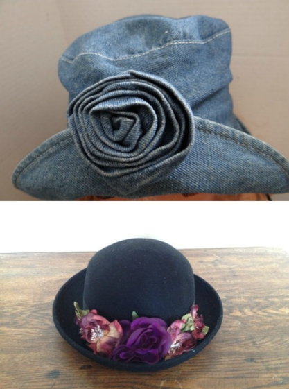 Flower Bucket Hats