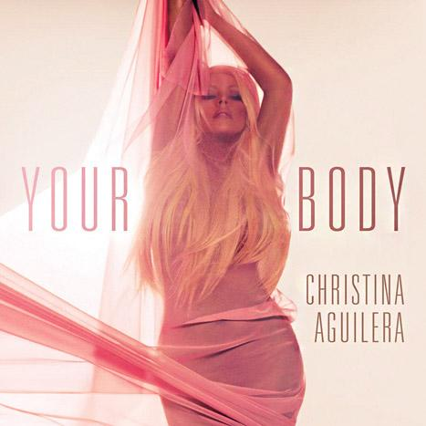 "Nearly Nude Christina Aguilera Flaunts Sexy Curves on ""Your Body"" Single Cover"
