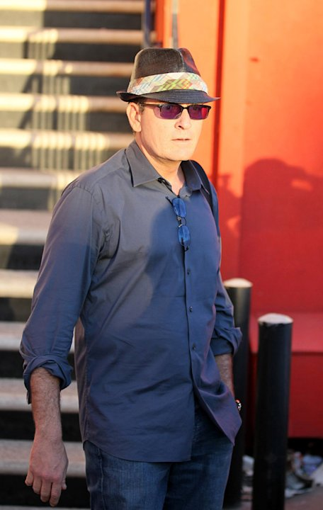 Charlie Sheen Gossip Cop