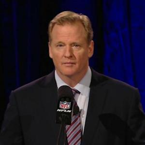 NFL Commissioner Roger Goodell's Super Bowl XLIX press conference