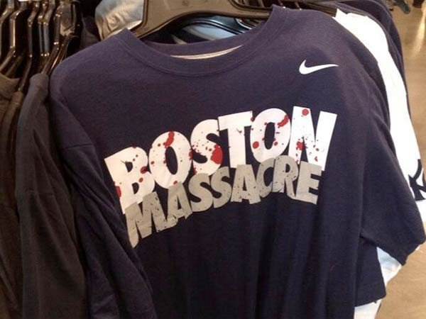 NIKE retira tshirt del mercado por respeto a familias de Boston