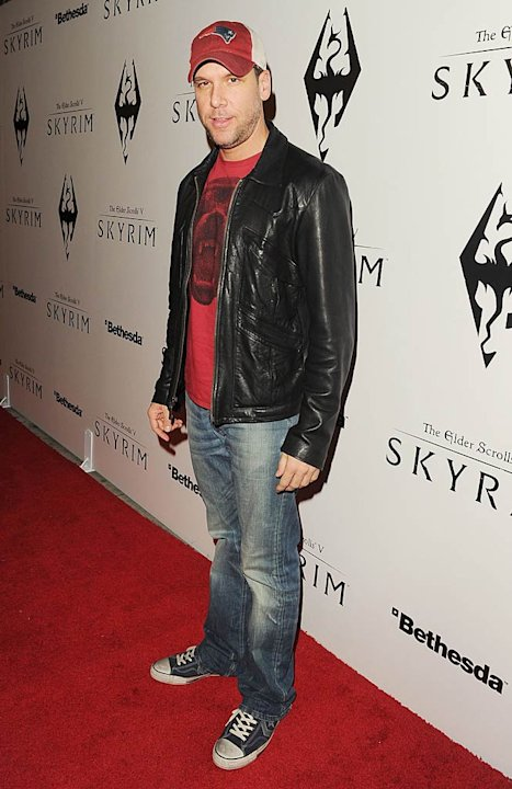 Dane Cook Elder ScrollsV Skyrim Launch Party