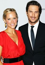 Erinn Bartlett and Oliver Hudson | Photo Credits: David Livingston/Getty Images
