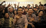 Jokowi-Basuki Raih Suara Terbanyak di Jakarta Pusat