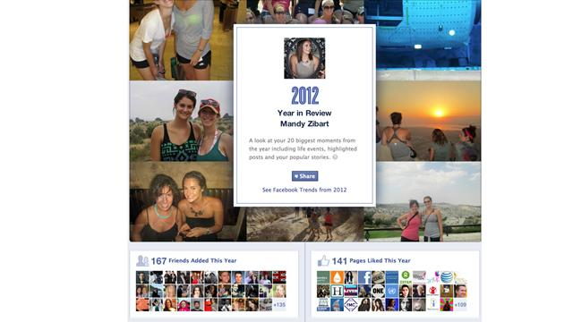 Relive Your Year on Facebook, Twitter