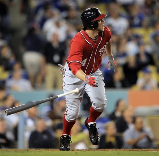Kemp's HR in 10th spoils Harper's strong debut