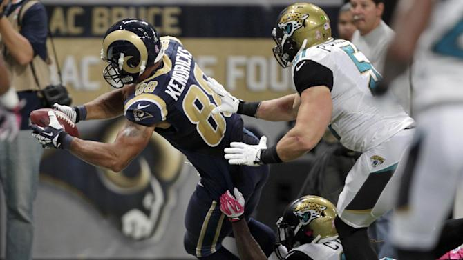 Rams TE Kendricks gets it done receiving, blocking