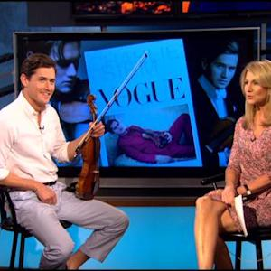 Violinist Charlie Siem Featured In April Issue Of CBS Watch Magazine