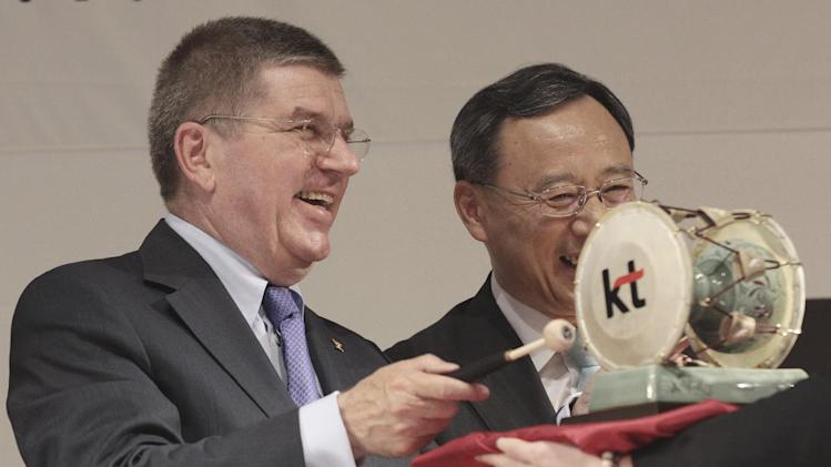 IOC unconcerned by Pyeongchang building schedule