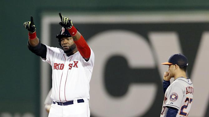 Ortiz's 2 HRs, 6 RBIs power Red Sox over Astros