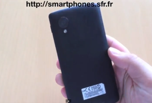 Nexus 5 prototype shown running from all angle in leaked video