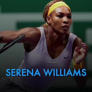 Serena Williams picks up a #WIN