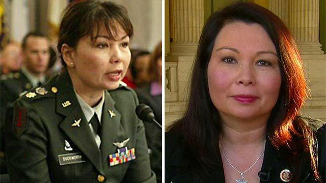 Rep. Duckworth on Pentagon lifting ban on women in combat