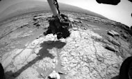 Nasa&#39;s Curiosity Rover Drills Into Mars Rock