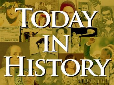 Today in History for Sunday, February 10th