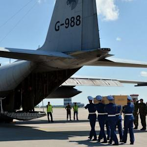 Bodies from MH17 Crash Return to the Netherlands