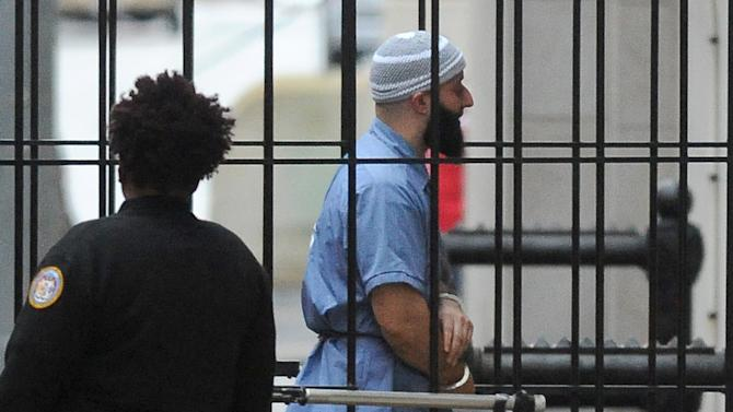 "FILE - In this Feb. 3, 2016 file photo, Adnan Syed enters Courthouse East in Baltimore prior to a hearing in Baltimore.  An alibi witness who was never called, cell phone data that was misrepresented and other legal failures more than justify a new trial for Syed, his defense lawyer argued Tuesday, Feb. 9, 2016 closing an unusual hearing prompted by the popular ""Serial"" podcast's extensive re-examination of the murder case. (Barbara Haddock Taylor/The Baltimore Sun via AP)  WASHINGTON EXAMINER OUT; MANDATORY CREDIT"