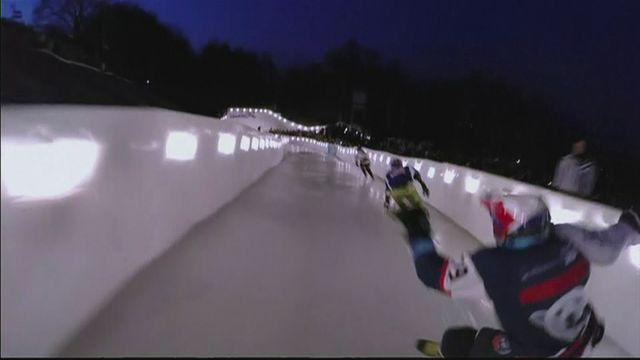 Moscow thrilled by Ice Cross races