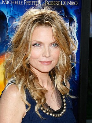 Michelle Pfeiffer at the Los Angeles premiere of Paramount Pictures' Stardust