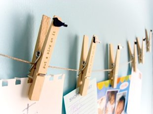Clothespin Art Gallery