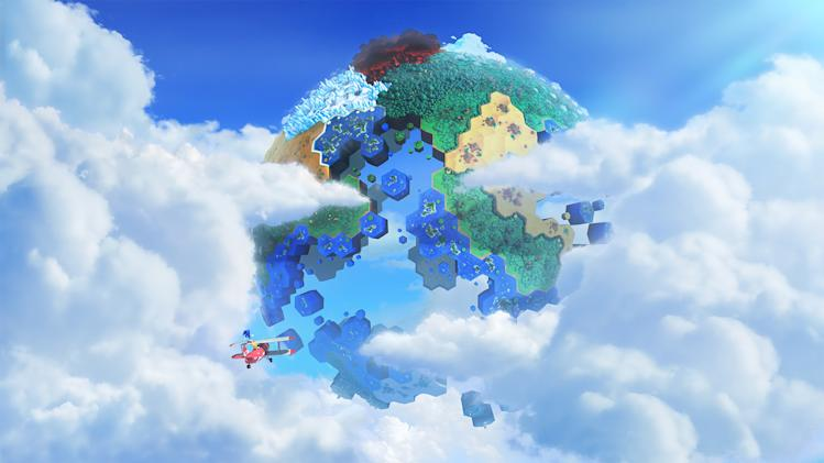 "This undated publicity photo released by Sega shows the video game, ""Sonic Lost World."" It is set for release on the Wii U and Nintendo 3DS later this year. (AP Photo/Sega)"