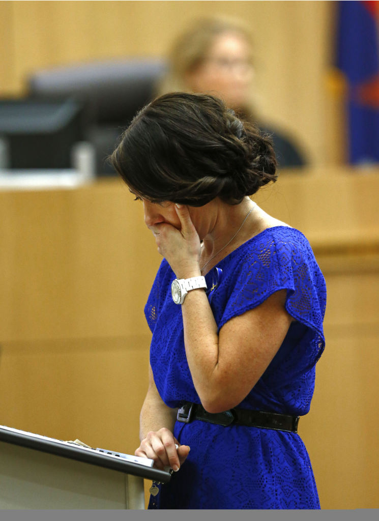 ... during the penalty phase of the Jodi Arias trial at Maricopa ... more