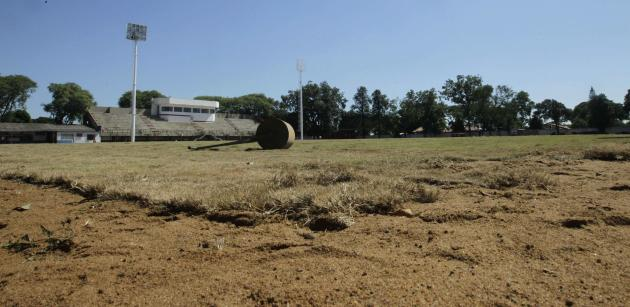 A view of the grounds of the Flamengo Sport Club, as it is being refurbished to be used by South Korea's national soccer team as its training base during the 2014 World Cup, in Foz do Iguacu
