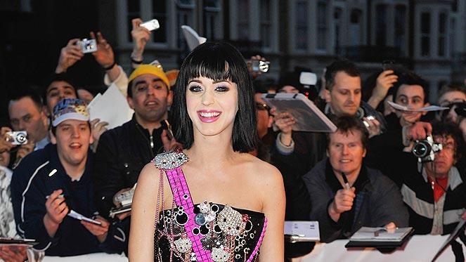 Pery Katy Brit Awards
