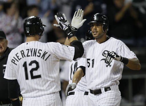 Rios, AJ go back-to-back; White Sox beat Tigers