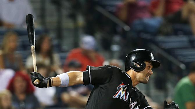 Jones lifts Marlins past Braves 3-1 in 10
