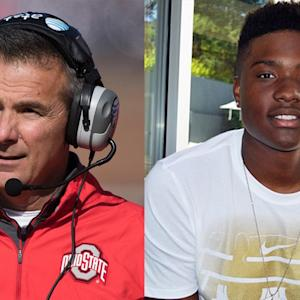 "Urban Meyer: Dwayne Haskins ""best QB at his age I've ever seen"""
